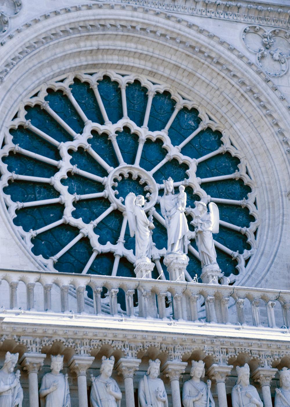 2005年のノートルダム大聖堂(Cathédrale Notre-Dame)