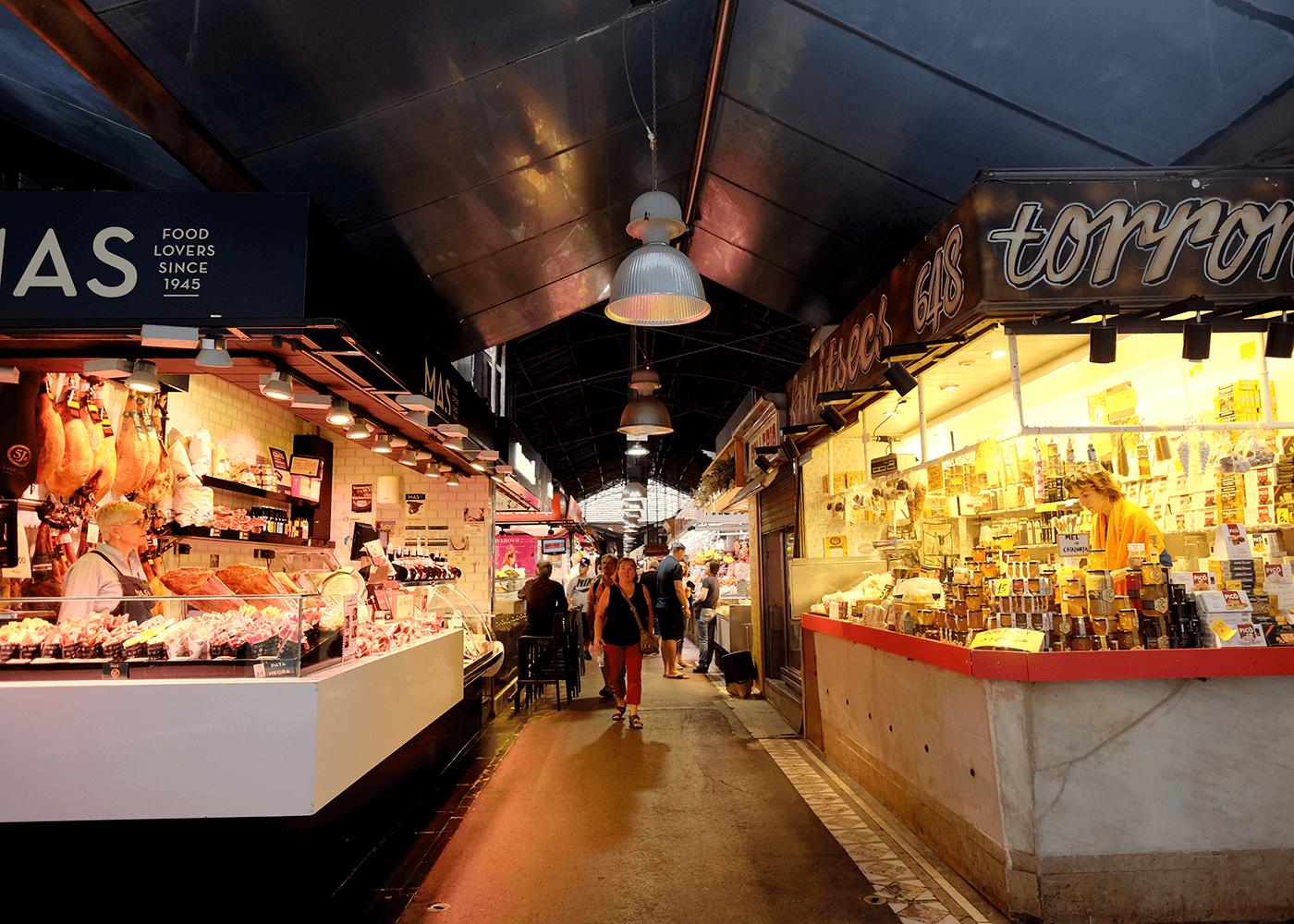 Mercado de La Boqueria(ブケリア市場)
