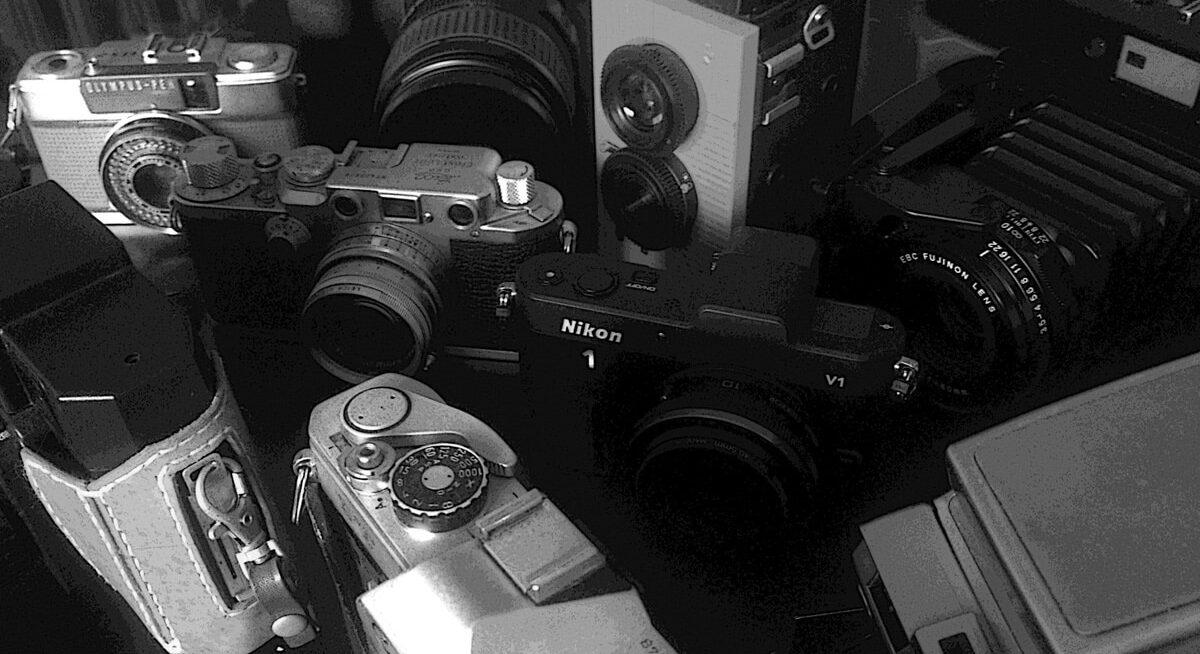 一番カメラを所有していた頃の、集合写真