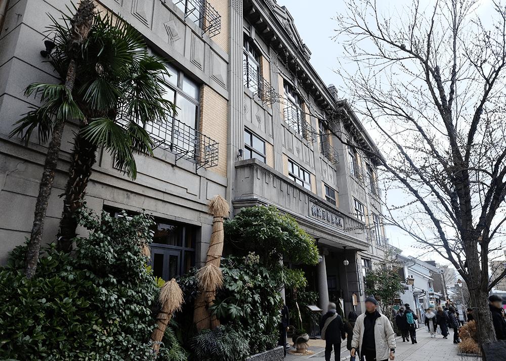 信州善光寺 in お正月