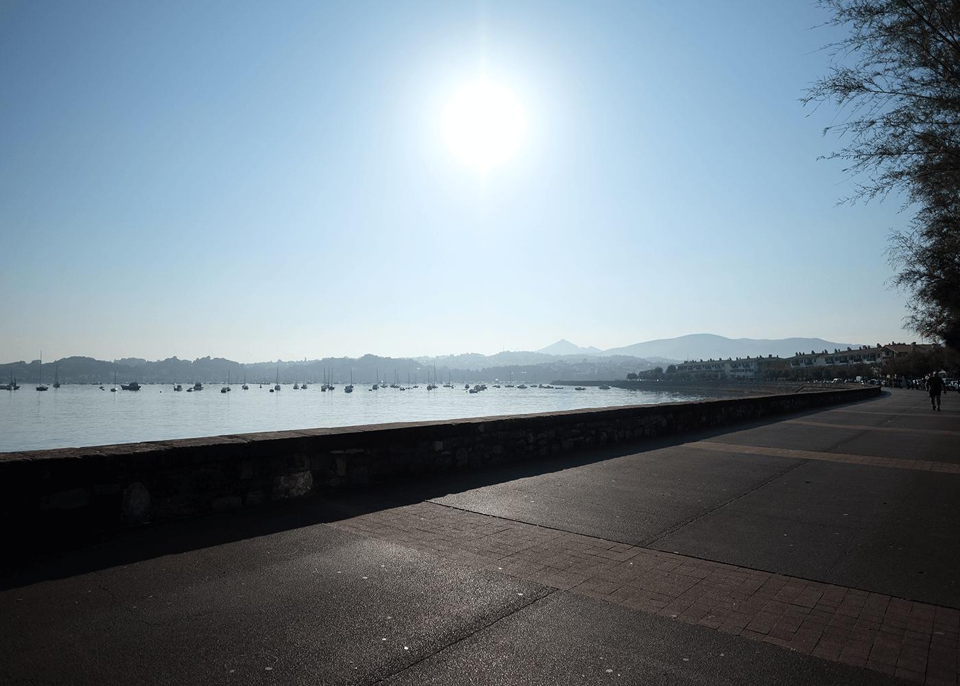 城塞都市オンダリビア(Hondarribia)の街並み