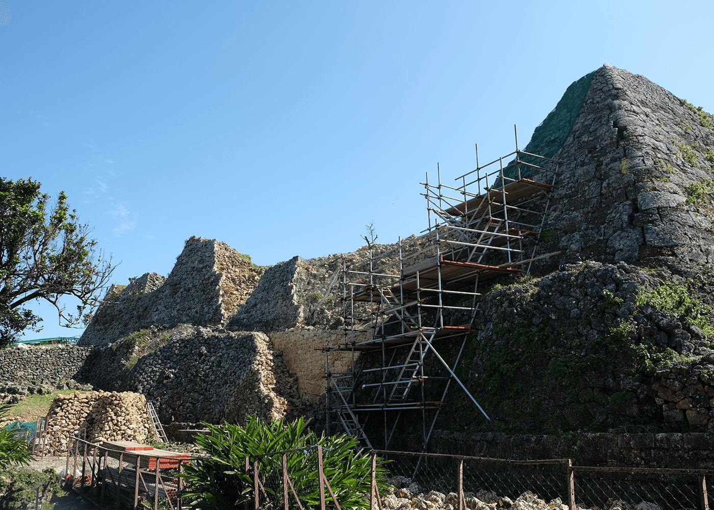 世界遺産 中城城跡(なかぐすくしろあと)