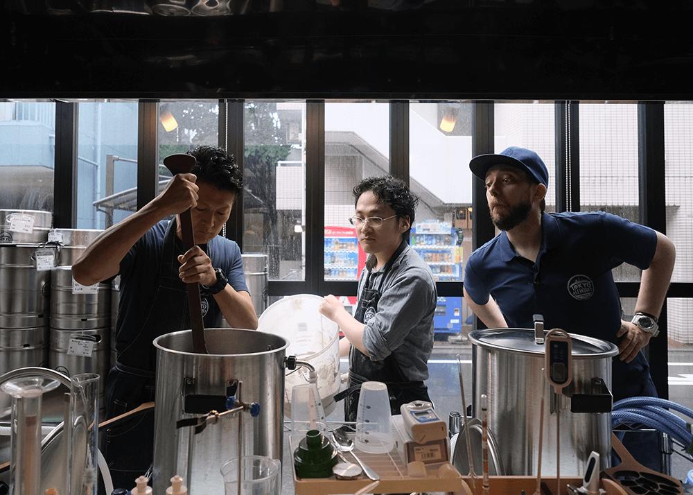 TOKYO ALEWORKS(トーキョーエールワーク)醸造体験