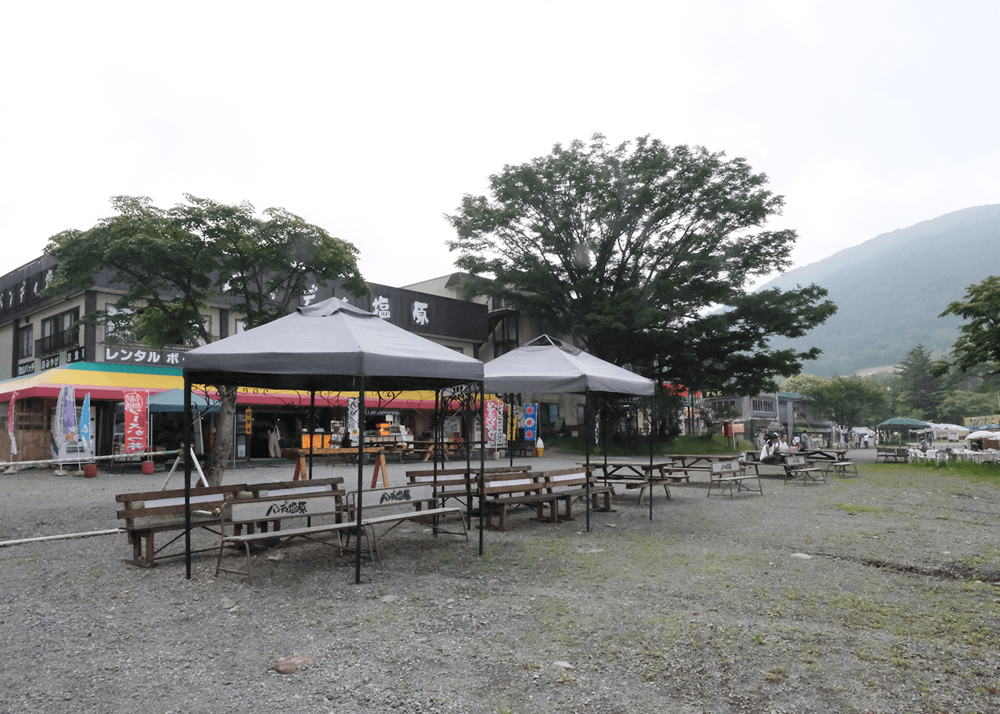 赤城神社と大沼