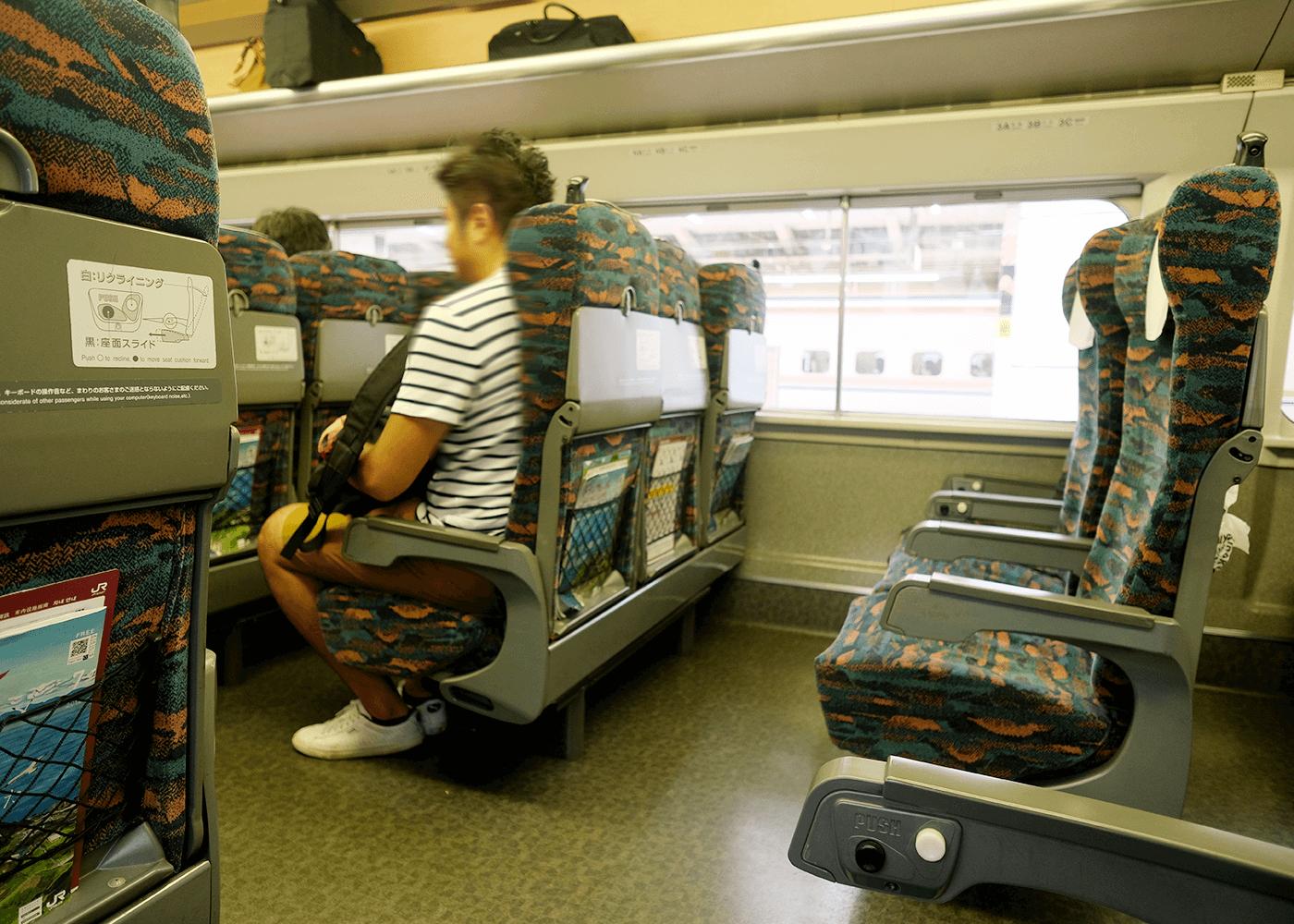 マイクロブルワリー を訪ねて(4)新幹線にて